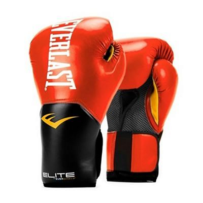 Everlast Elite Pro Style Training Gloves Red