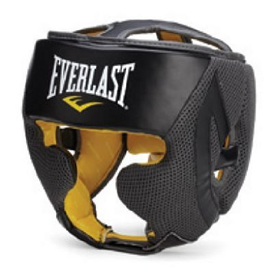 Everlast Evercool Headgear Black-Grey