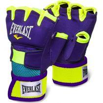 Everlast Evergel Glove Wraps Morado-Amarillo