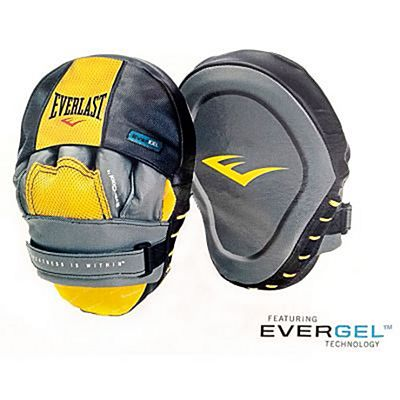 Everlast Evergel Mantis Punch Mitts Grey-Black