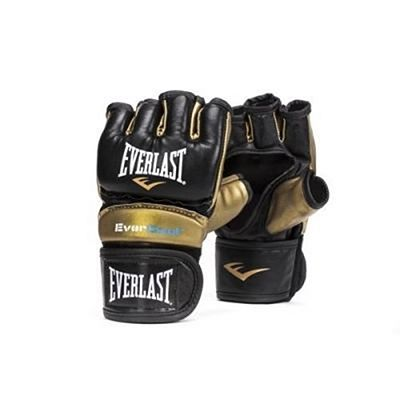 Everlast Everstrike Training Gloves Negro-Oro