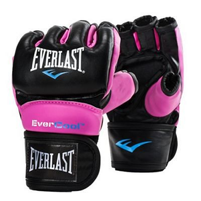 Everlast Everstrike Training Gloves Svart-Rosa
