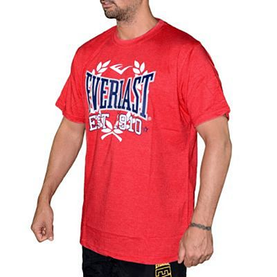 Everlast EVR9024 Mens T-shirt Red