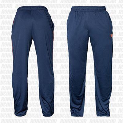 Everlast Fluo Pants Azul Marino-Naranja
