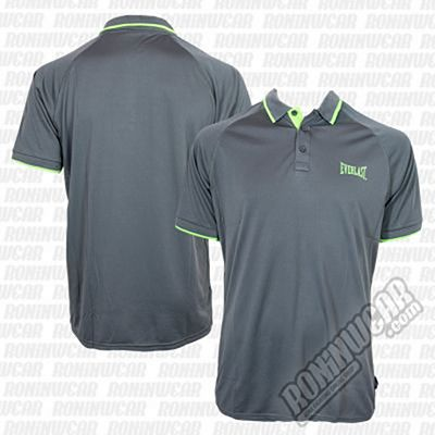 Everlast Fluo Polo Gris-Verde