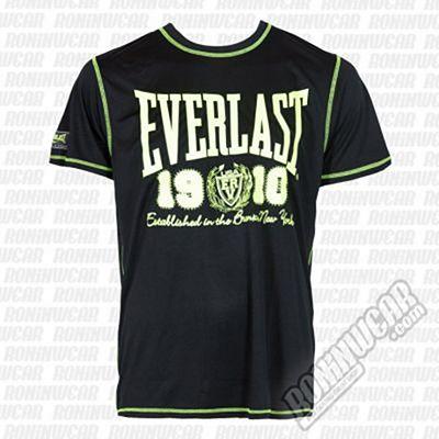 Everlast Fluo SL Tee Negro-Amarillo