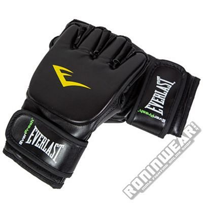 Everlast 7560 Guantes Grappling Negro