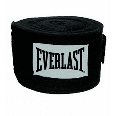Everlast Cotton Handwraps 457cm Black
