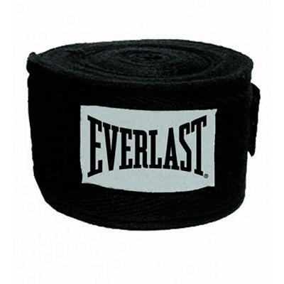 Everlast Pro Style Handwraps 457cm Noir