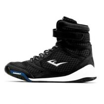 Everlast High Top Boxing Shoes Negro
