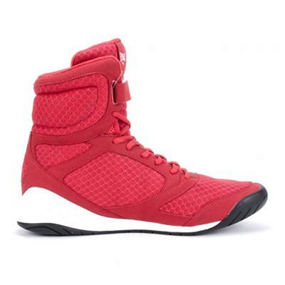 Everlast High Top Boxing Shoes Red