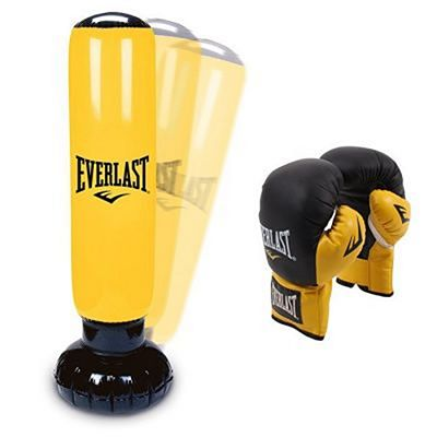 Everlast Kids Set Power Tower & Gloves Amarelo