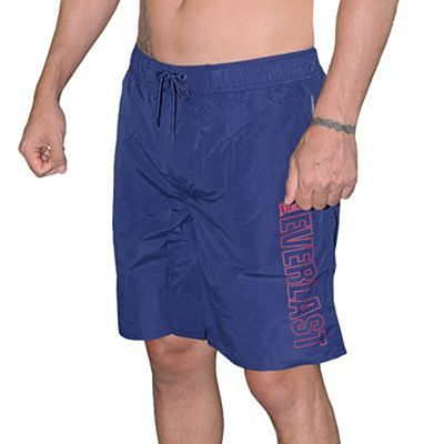 Everlast Logo Swim Shorts Navy Blue