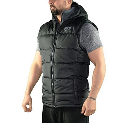 Everlast Mens 2 Zip Gilet Preto