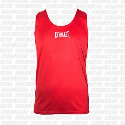 Everlast Mens Competition Vest Red-White