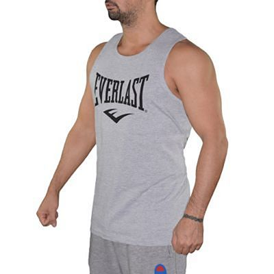 Everlast Mens Logo Vest Grey-Black