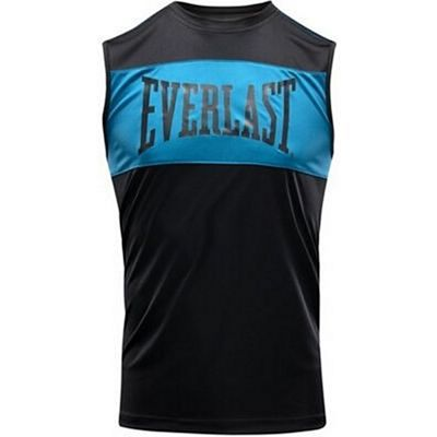 Everlast Mens Training Tank Top Nero-Blu
