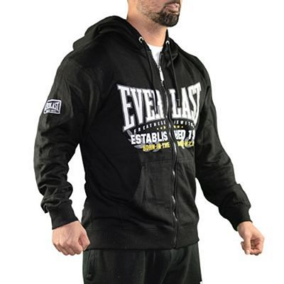 Everlast Mens Zip Through Hoody Preto