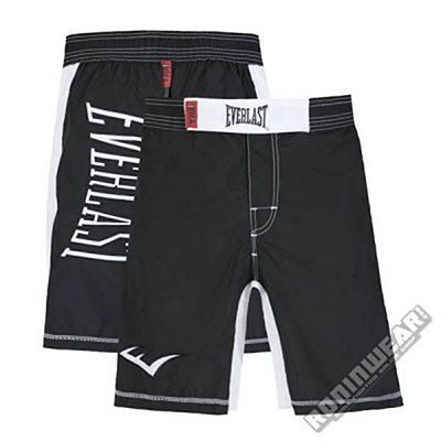 Everlast MMA Shorts Black-White