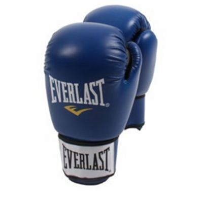 Everlast Moulded Foam Training Gloves PU Azul