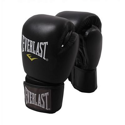 Everlast Muay Thai Gloves Fekete