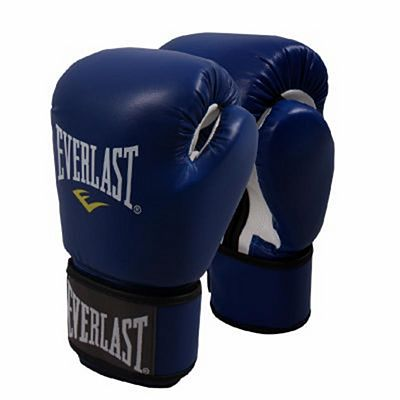 Everlast Muay Thai Gloves Blue