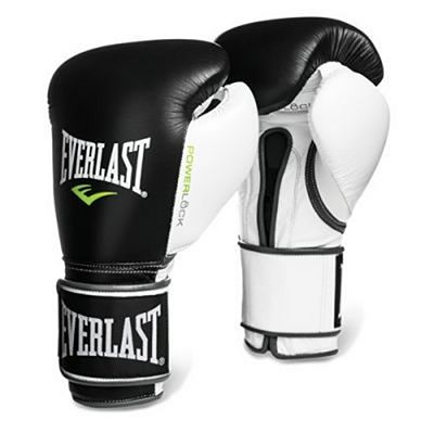 Everlast Powerlock Pro Training Gloves Velcro Negro-Blanco