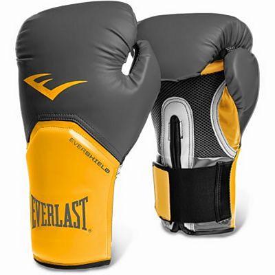 Everlast Pro Style Elite Gloves Gris-Naranja