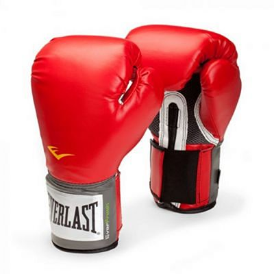 Everlast Pro Style Training Gloves Red