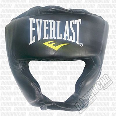 Everlast Pro Traditional Headgear Black