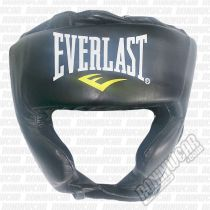 Everlast Pro Traditional Headgear Fekete