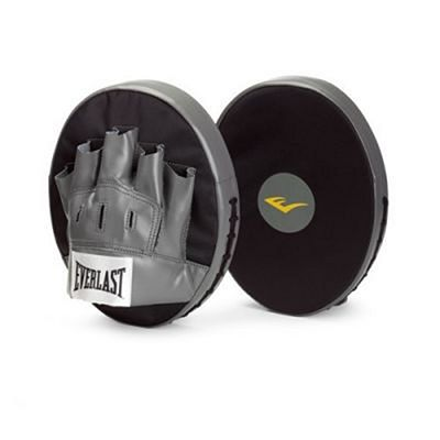 Everlast Punch Mitts Black-Grey