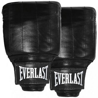 Everlast PVC Pro Bag Gloves Fekete