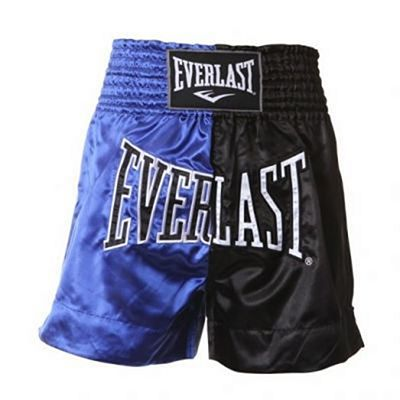 Everlast Thai Boxing Shorts Nero-Blu
