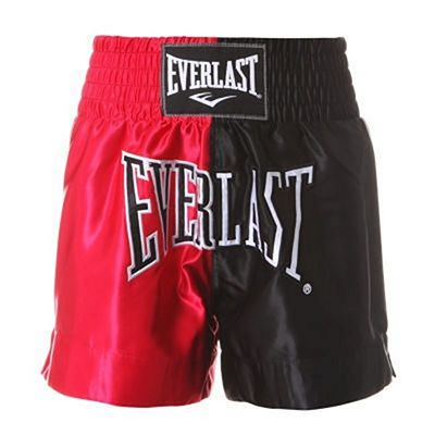 Everlast Thai Boxing Shorts Nero-Rosso