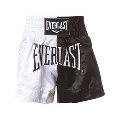 Everlast Thai Boxing Shorts Bianco-Nero