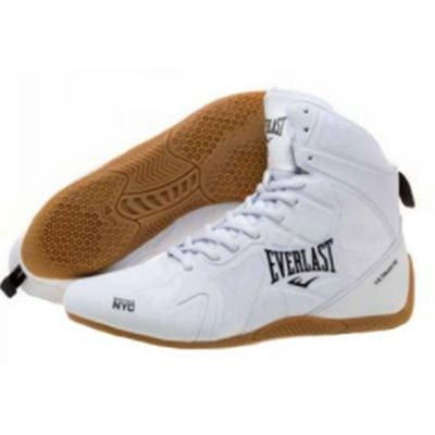 Everlast Ultimate Boxing Shoes Blanco