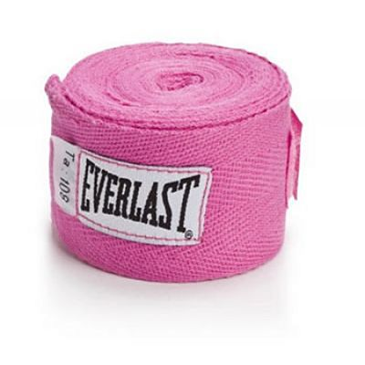 Everlast Cotton Handwraps 275cm Pink