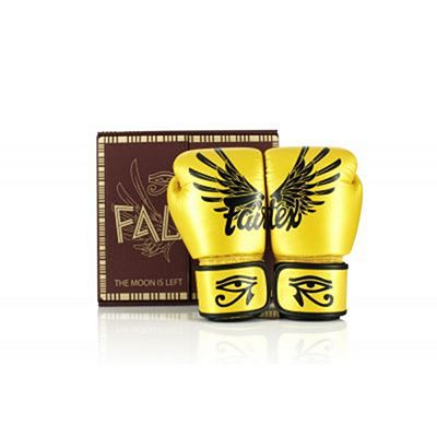 Fairtex BGV1 Falcon Boxing Gloves Giallo-Nero