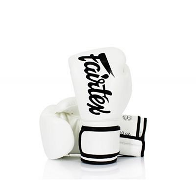 Fairtex BGV14 Boxing Gloves White-Black