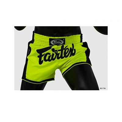 Fairtex BS1706 Muay Thai Shorts Lime Verde