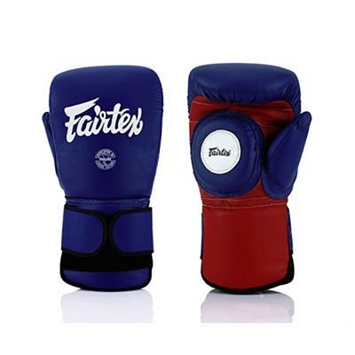 Fairtex Coach Sparring Gloves BGV13 Azul-Rojo