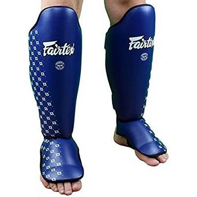 Fairtex Competition Shin Pads SP5 Blue