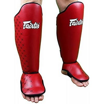 Fairtex Competition Shin Pads SP5 Red