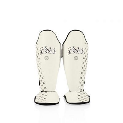 Fairtex Competition Shin Pads SP5 White