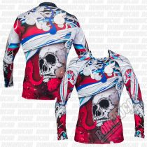 Fixgear Red Skeleton LS Rosso