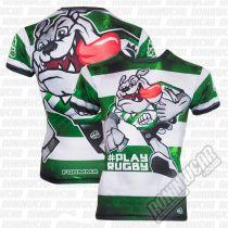 Formma Bulldog Rugby Green Rashguard