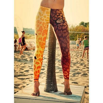 Formma Champion Leggings Gold Amarillo-Naranja