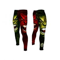 Formma Compression Pants Bad Boy Verde-Rojo