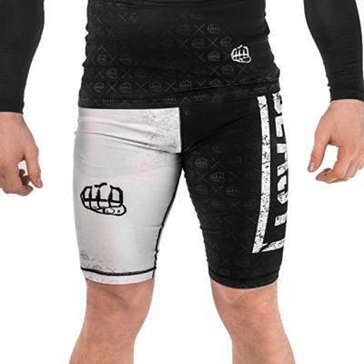 Formma Gym Shorts Beast Schwarz-weiß